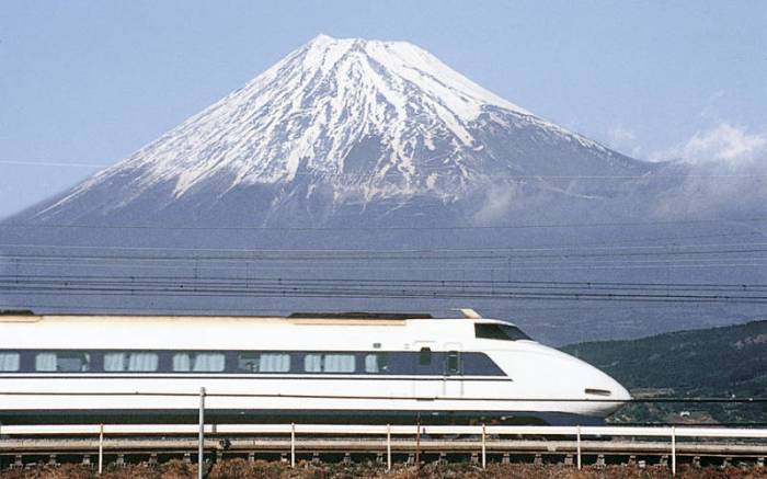 Japan Rides theRails